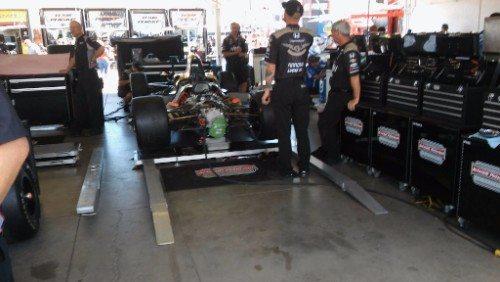 Phoenix IndyCar Race Pit
