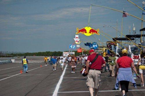 Pocono Raceway Triangle Club