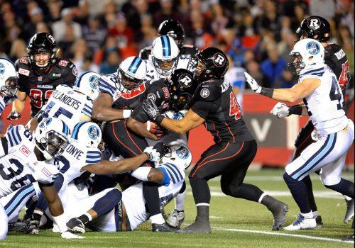 Argonauts vs Redblacks football