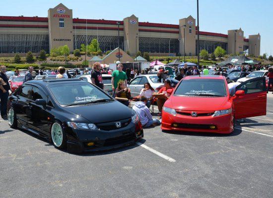 Atlanta Motor Speedway Parking