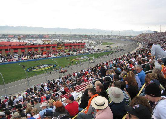 Auto Club Speedway Fans