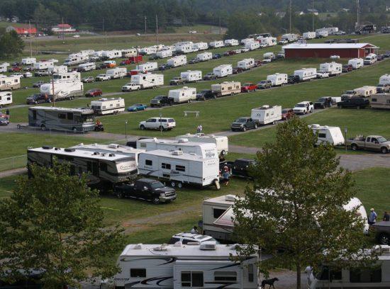 Bristol Motor Speedway Camping