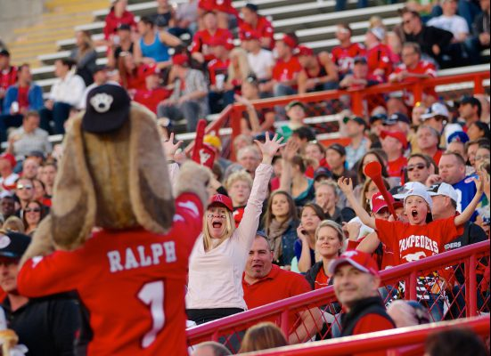 Stampeders Ralph and the Fans