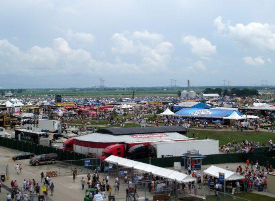 Chicagoland Speedway Infield