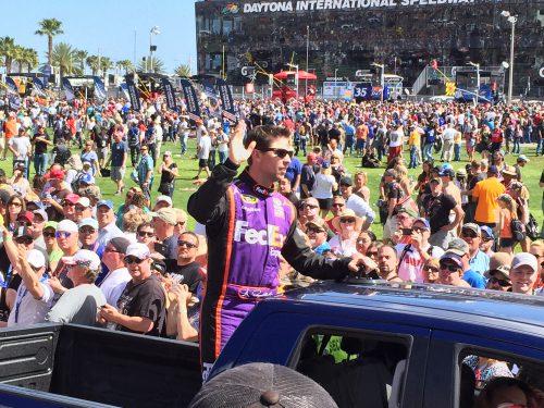 Denny Hamlin Dayton 500