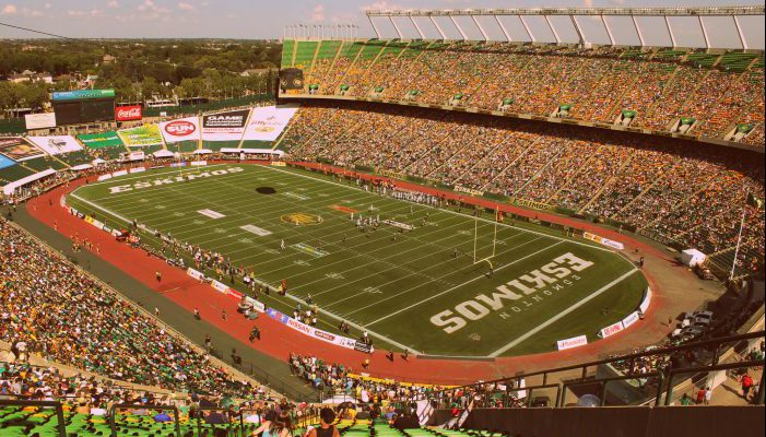 Commonwealth Stadium Edmonton Eskimos