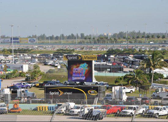 Homestead-Miami Speedway Parking