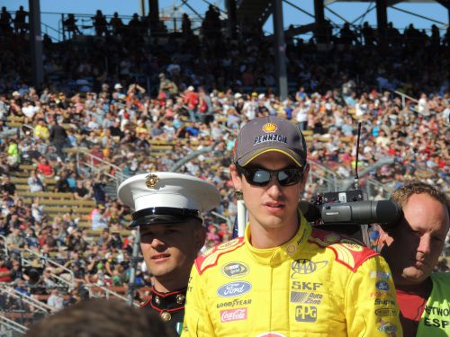 Joey Logano Winner