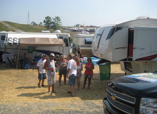 Kentucky Speedway Field