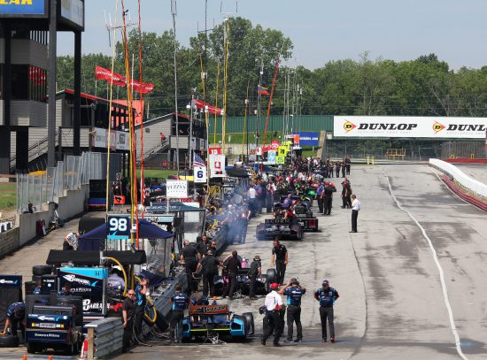 Mid-Ohio Sports Car Course Pit