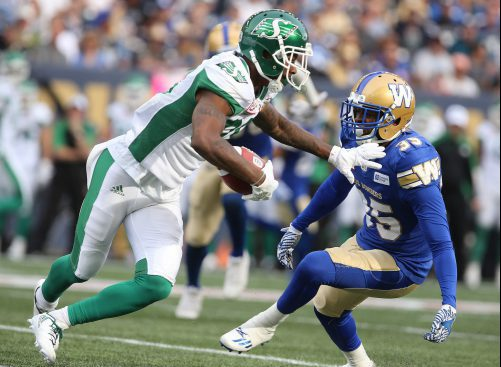 Roughriders vs Bluebombers