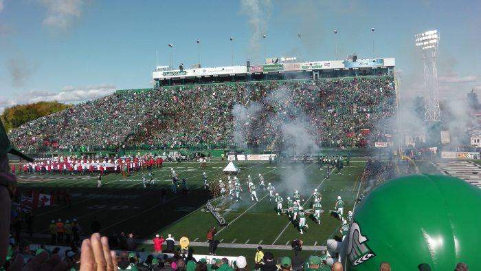 Roughriders Mosaic Stadium