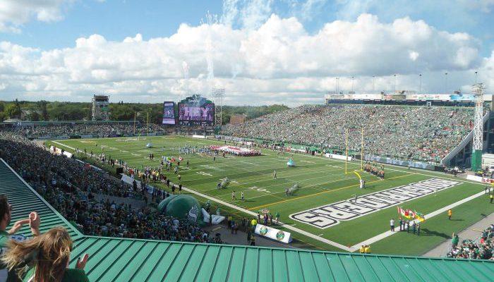 Roughriders Mosaic Stadium