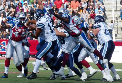 Toronto vs Alouettes football game