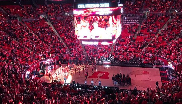 Utah Utes basketball Jon M Huntsman Center