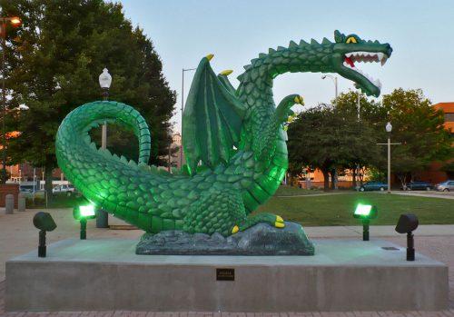 UAB Blaze Statue