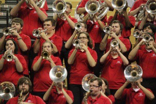 Rutgers basketball band