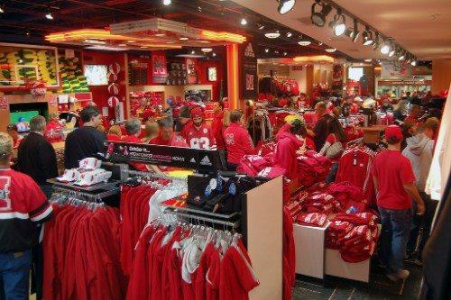 Nebraska Huskers team store