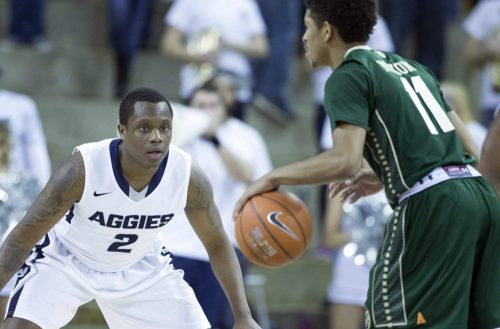 Utah State vs CSU basketball