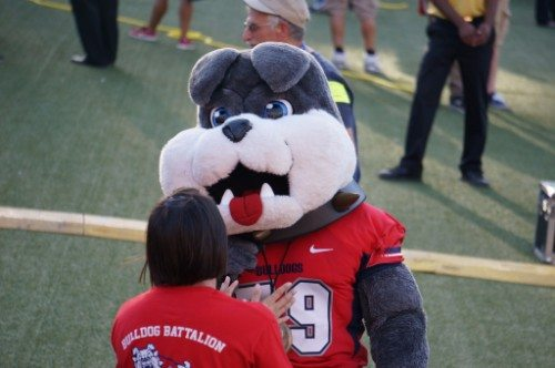 fresno state bulldogs mascot