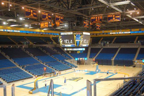 Pauley Pavilion UCLA Bruins banners