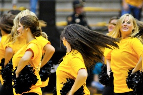 Southern miss basketball cheerleaders