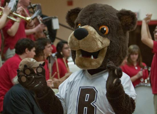 Brown Bears mascot Bruno