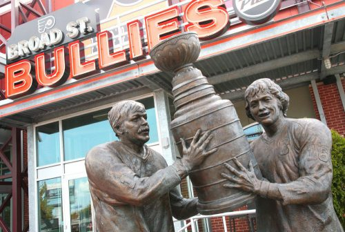 Flyers Stanley Cup Statue