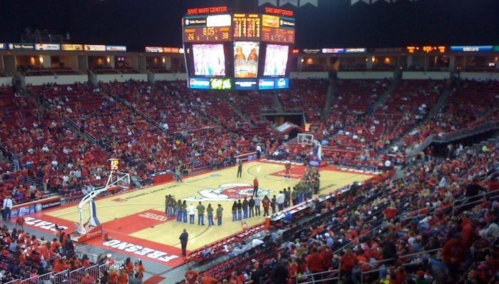 Fresno State Bulldogs Basketball Save Mart Center