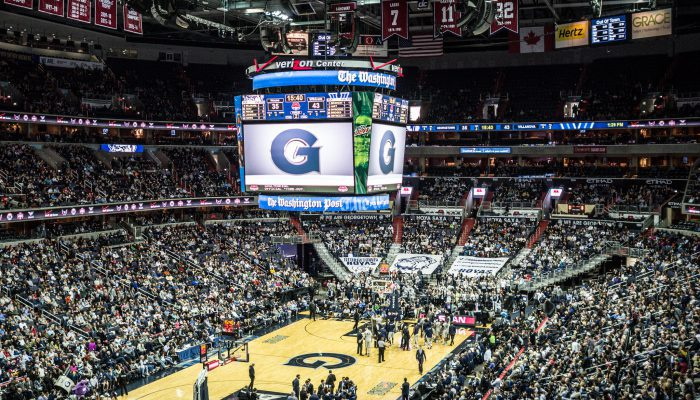 Georgetown Hoyas Basketball Capital One Arena