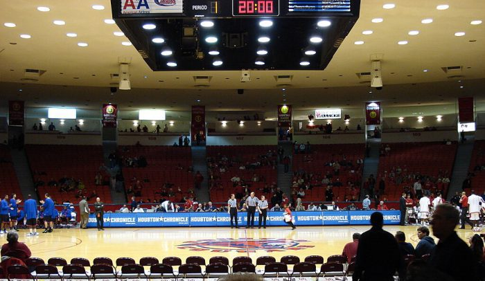 Houston Cougars Basketball Hofheinz Pavilion