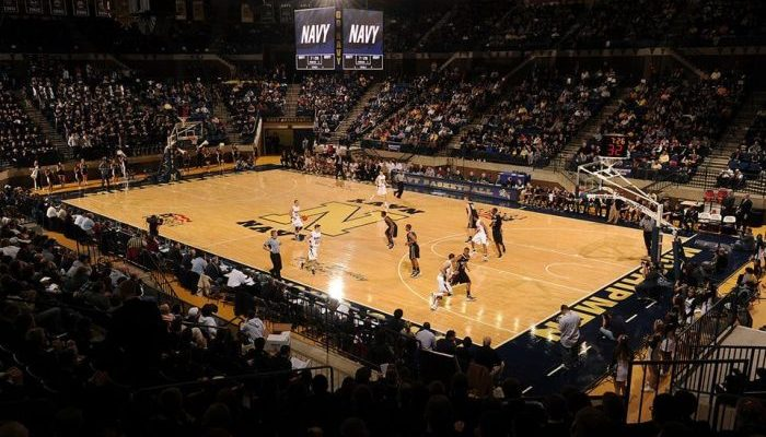 Navy Midshipmen Basketball Alumni Hall