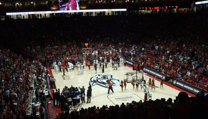New Mexico basketball the Pit