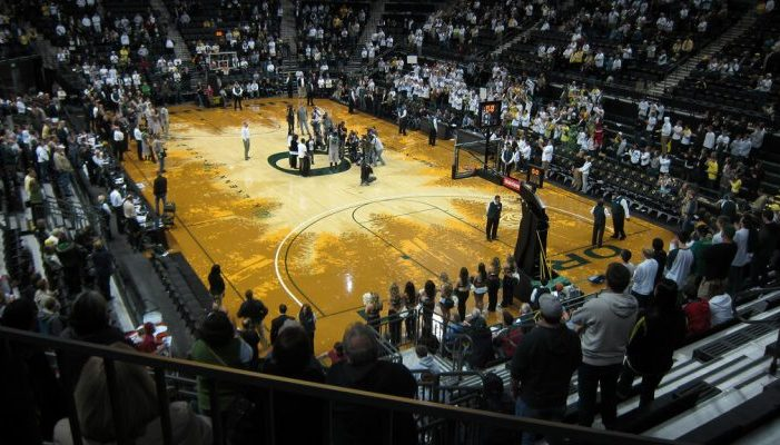 Oregon Ducks basketball Matthew Knight Arena