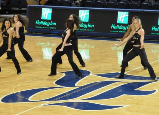 Rice Owls Basketball Dancers