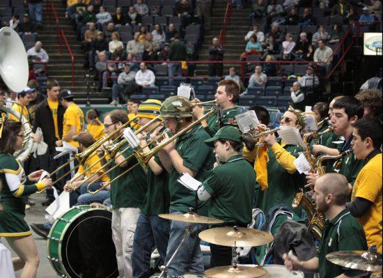 Siena Saints basketball pep band