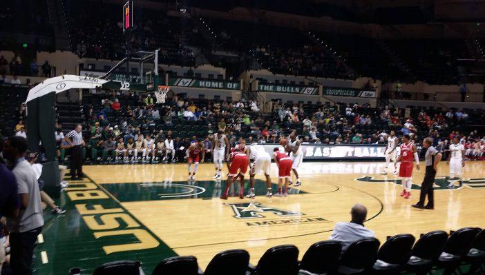 South Florida Bulls Basketball usf sun dome