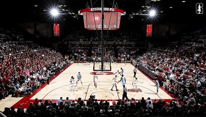 Stanford Cardinal basketball Maples Pavilion