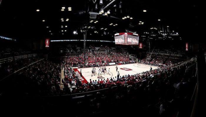 Stanford Cardinal basketball Maples Pavilion