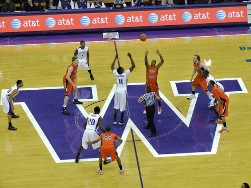 Washington Huskies Oregon State Beavers basketball