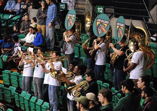 UAB Blazers basketball band