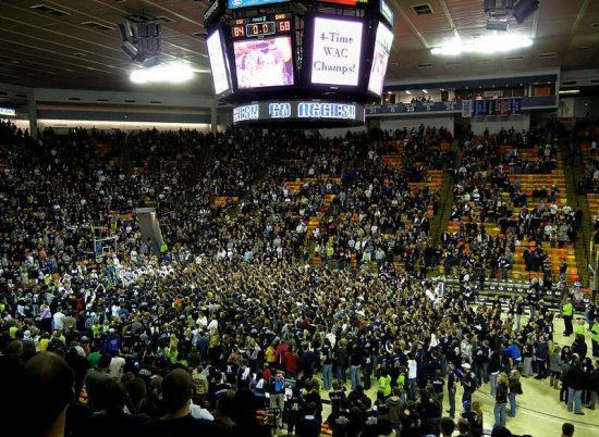Utah State Aggies Basketball Smith Spectrum