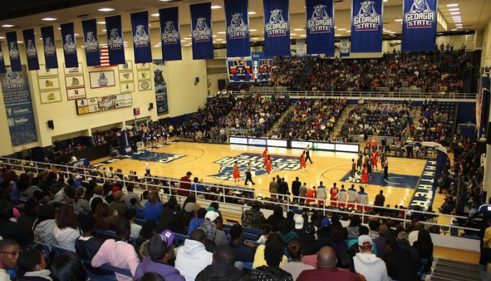 GSU Sports Arena Georgia State Panthers Basketball