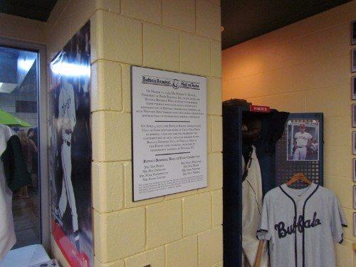 Buffalo Bisons baseball hall of fame
