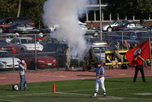 EWU Eagles cannon