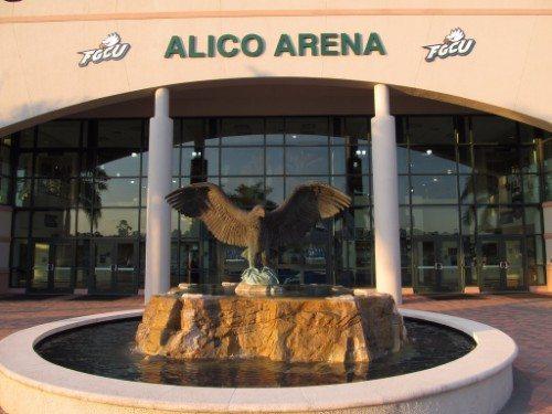 Alico Arena eagle statue