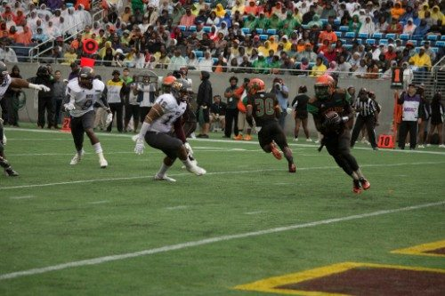 Florida Classic Bethune Cookman University Wildcats and the Florida A M University Rattlers