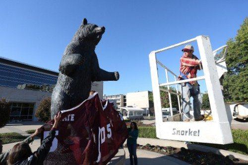 Missouri State Bear Statue