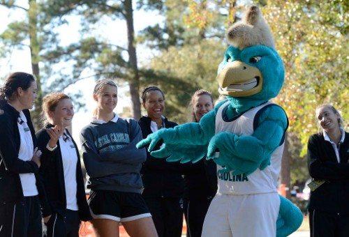 CCU Chanticleers Mascot Chauncey