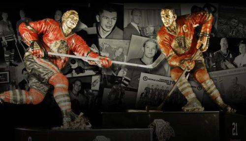 Chicago Blackhawks Bobby Hull Stan Mikita